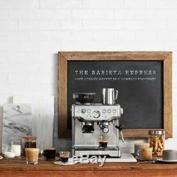 Amaze Sage Barista Express Bean to Cup Espresso Coffee Machine Stainless steel