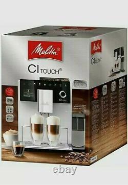 Brand New Melitta CI Touch Auto Bean to Cup Espresso Coffee Machine Silver