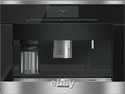 Built-in coffee machine with bean-to-cup system, versatile Miele coffee maker me