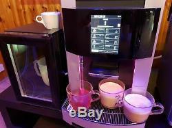 COMMERCIAL Bean to Cup Coffee machine Franke Pura + Milk Fridge NEW