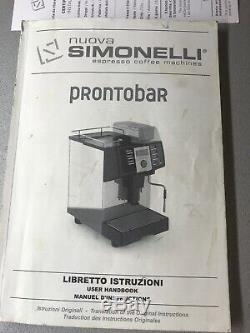Coffee Machine Beans To Cup nuova simonelli Prontobar Free Delivery