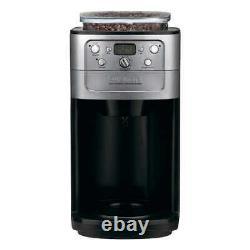 Coffee Maker & Burr Grinder Bean Hopper & Charcoal Water Filter 12-cup Glass Pot