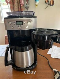 Cuisinart Dgb650bcu Grind & Brew Bean To Cup Large 12 Cup Coffee Maker/machine