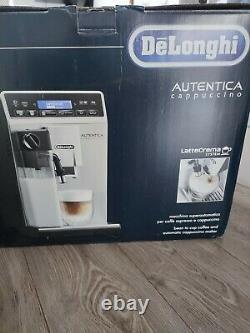 DELONGHI Autentica Cappuccino ETAM29.660. SB Bean To Cup Coffee Machine Silver