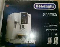 DELONGHI Dinamica ECAM 350.35. W Fully Automatic Bean to Cup Coffee Machine-White