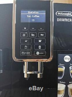 DELONGHI Dinamica ECAM 350.55. B Bean to Cup Coffee Machine Black RRP £1200