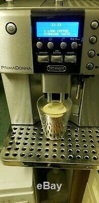 DELONGHI PRIMA DONNA ESAM 6600, Bean to Cup coffee machine, espresso cappuccino