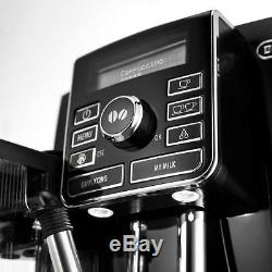 DeLonghi Bean To Cup Coffee Machine Black Fully Automatic Espresso Maker Frother