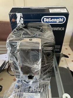 DeLonghi Dinamica Bean to Cup Coffee Maker Espresso Milk Frother ECAM350 NEW