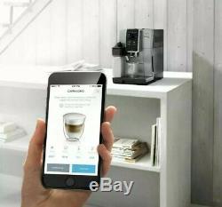 DeLonghi Dinamica Plus Bean To Cup Coffee Machine App Control ECAM370.85. SB