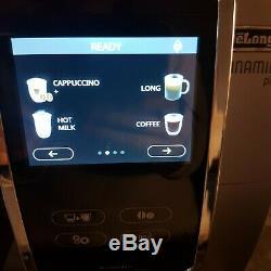 DeLonghi Dinamica Plus Bean to Cup Coffee Machine, Bluetooth App ECAM37085SB