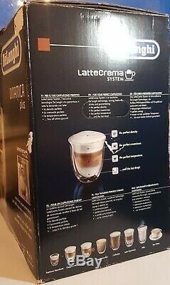 DeLonghi Dinamica Plus Bean to Cup Coffee Machine Latte Crema ECAM37085SB