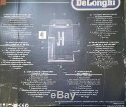 DeLonghi ECAM26.455. B PrimaDonna S Deluxe Beans to Cup Coffee Machine, Black