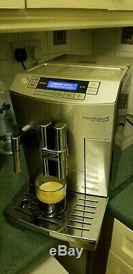 DeLonghi ECAM26.455. M PrimaDonna S Deluxe Bean-to-Cup Coffee Machine, Stainless