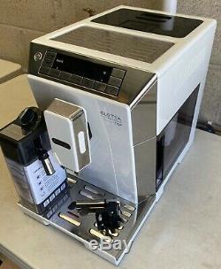 DeLonghi ECAM45.760. W Eletta Flat White Bean-to-Cup Coffee Machine RRP £599 G