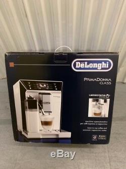DeLonghi ECAM 556.55. W PrimaDonna White Bean-To-Cup Coffee Machine