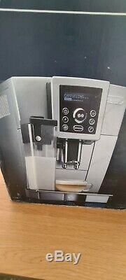 DeLonghi Ecam 23.450. S Bean to Cup Coffee Machine Silver & Black Ex Display
