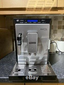 DeLonghi Eletta Plus ECAM44.62X Bean to Cup Coffee Machine Silver & Black