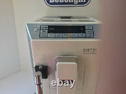 DeLonghi Eletta TOP ECAM45.760 Bean to Cup Coffee Machine White