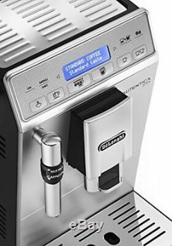 De'Longhi Autentica Plus, Automatic Bean to Cup Coffee Machine, Cappuccino and E