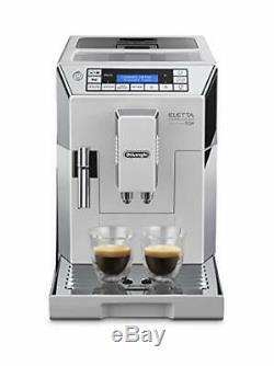 De'Longhi Bean to Cup Coffee Machine Eletta Cappuccino Top ECAM45.760 WHITE
