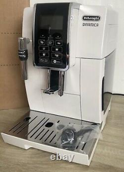 De'Longhi ECAM350.35. W Dinamica Bean-to-Cup Fully Automatic Coffee Machine, White