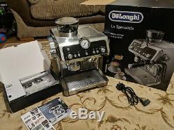 De'Longhi La Specialista Bean to Cup Coffee Machine Silver (Alt Portafilter) B