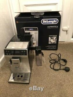 Delonghi Autentica Etam29.660. Sb Bean To Cup Coffee Machine Boxeduk