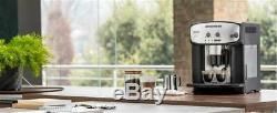 Delonghi Caffe Corso ESAM2800SB Black Silver Electric Bean To Cup Coffee Machine
