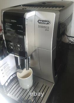 Delonghi Dinamica Plus Ecam370.85. T Bean To Cup Coffee Machine