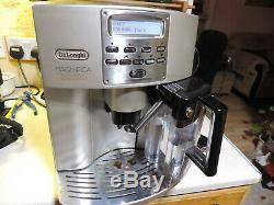 Delonghi ESAM 3500 Beans to Cup coffee machine Nice & Clean -Auto Milk Frother