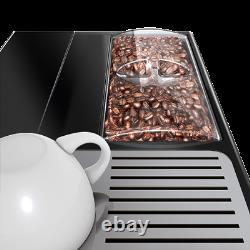 FREE P&P New In Box Stunning Black Bean To Cup Coffee Machine-Solo Perfect