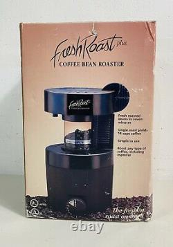 Fresh Roast Plus Coffee Bean Roaster Model 401 14 Cups Any Type + Espresso