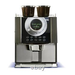 Fully Refurbished Neva Duo Bean 2 Cup Cappuccino & Tea 4 Canister Coffee Machine