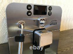 Gaggia Brera Bean to Cup espresso coffee machine automatic Silver