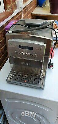 Gaggia Titanium Coffee Machine, Bean to Cup Espresso Machine Stainless Steel