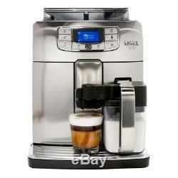 Gaggia Velasca Prestige automatic Espresso coffee machine bean cup milk