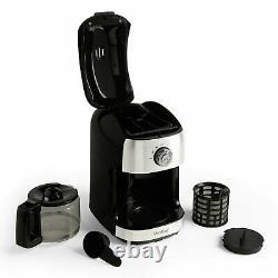 Instant Coffee Espresso Maker Machine Bean Grinder to Cup Filler Barista Style
