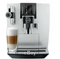 JURA J6 Bean To Cup Coffee Machine Pure Brilliant Silver NEW UK