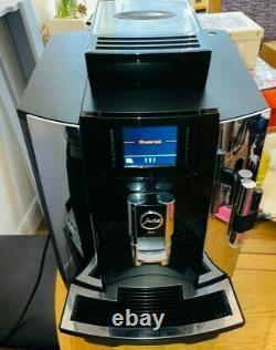 Jura 15144 Automatic Bean to Cup Coffee Machine We8, Chrome, espresso, Latte