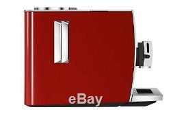 Jura Ena 8 Bean to Cup Coffee Machine in Sunset Red 15255