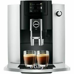 Jura Impressa E6 Bean 2 Cup Coffee Machine Black/Platinum Brand New Ex Display