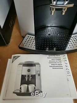 Jura Impressa F90 Bean to Cup Coffee Machine + Cappuccino Nozzle, Box & Manual