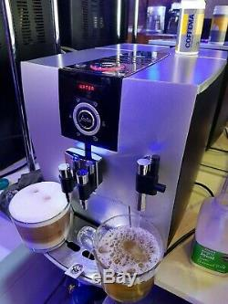 Jura Impressa J5 bean to cup coffee machine CAPPUCCINO