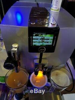 Jura Impressa J9 bean to cup coffee machine CAPPUCCINO