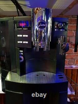Jura Impressa XS90 bean to cup semi-commercial coffee machine Cappuccino