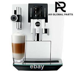 Jura J6 Piano White Automatic Bean-to-cup Coffee Machine