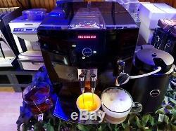 Jura J7 Coffee Machine Bean to cup Cappuccino