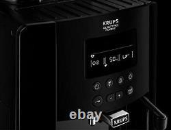 Krups Arabica Digital, Bean to Cup, Professional Coffee Machine, Black