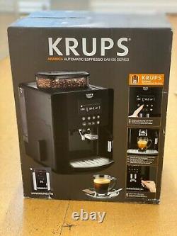 Krups Arabica Ea817840 Bean To Cup Espresso Coffee Machine Uk Stock